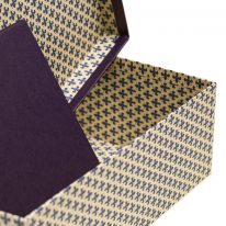 Set Scatole Blu Linea Giglio dettaglio 1