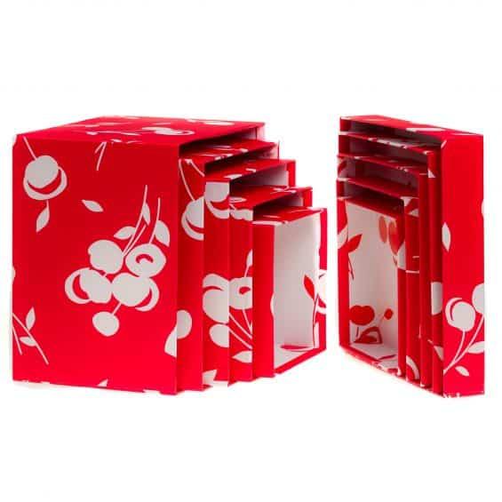 LorisOfFlorence_linea-cherry-scatole-quadrate-decorazione-ciliegie-rosso-bianco