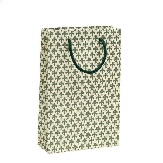 Shopper Verde Linea Giglio