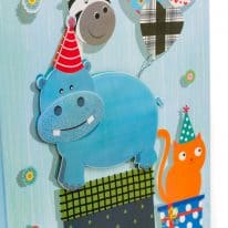 LorisOfFlorence-linea-shopper-baby-confezioni-regalo-shopper-carta-blu-ippopotamo
