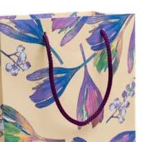 Shopper-piccolo-decorazione-floreale-particolare-linea-sofia-loris-of-florence