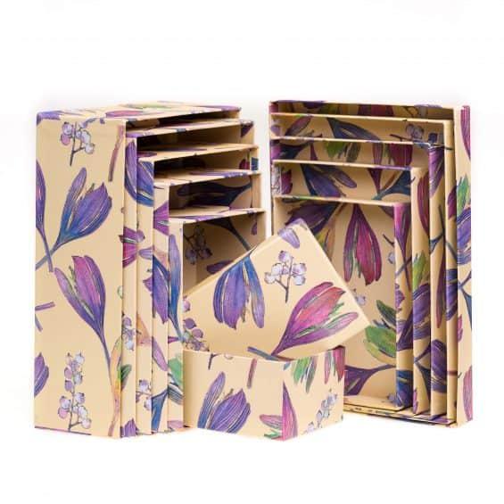 set-scatole-regalo-piccole-decorazione-floreale-loris-of-florence