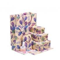 collezione loris of florence scatole e carta regalo shopper bags linea sofia